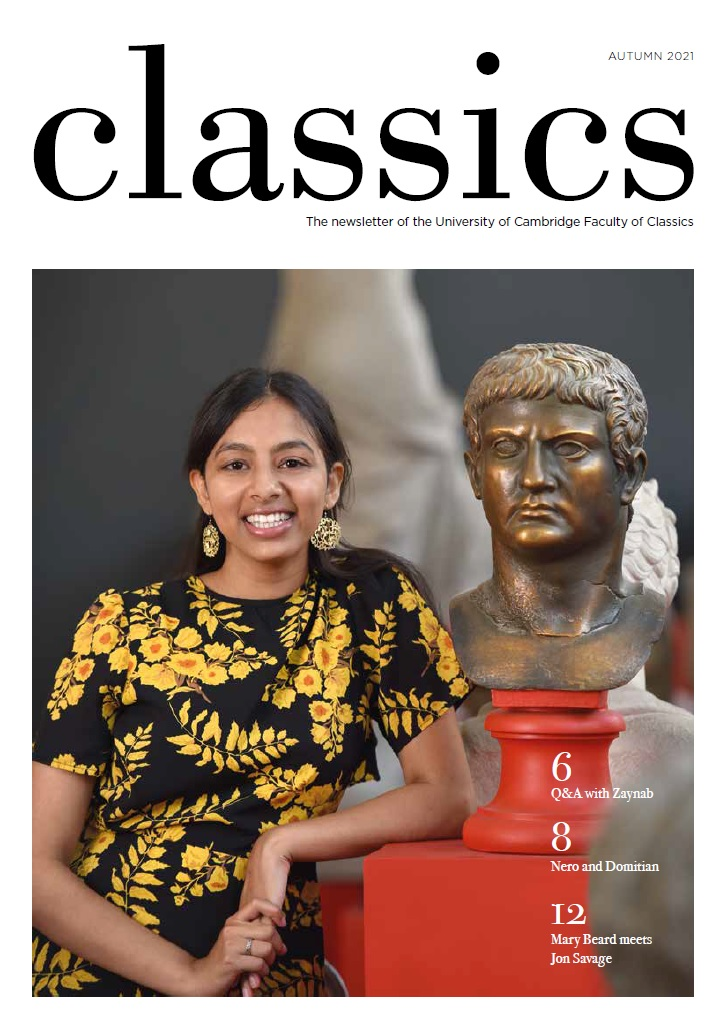 Cover of the 2021 edition of the Classics newsletter