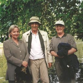 (l-r) Anne Thompson, Bruce Fraser, Jeff Rydberg-Cox