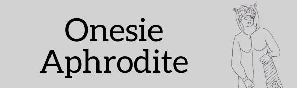 Onesie Aphrodite colouring sheet