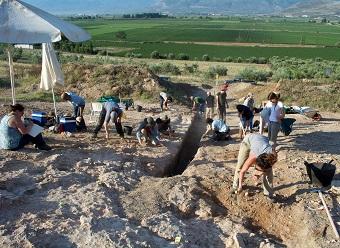 Prosilio digging action