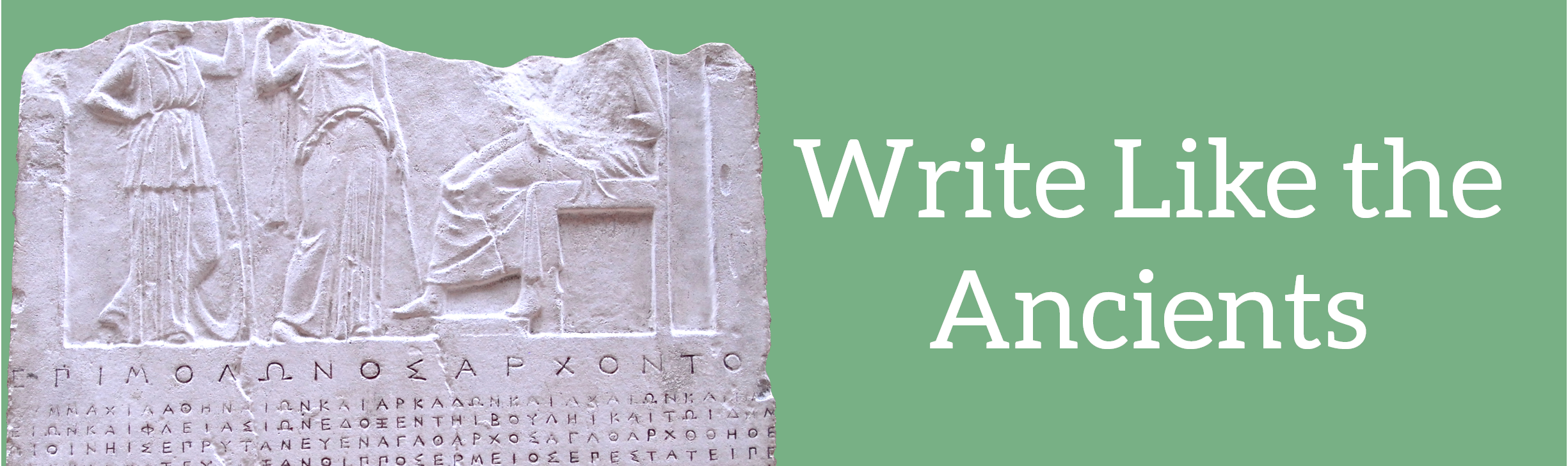 Write like the Ancients