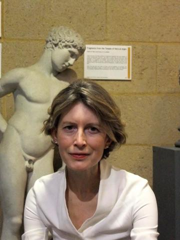 Professor Caroline Vout, Director of the Museum of Classical Archaeology