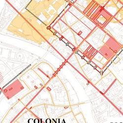 Plan of current knowledge of Roman York, ©John Creighton and Martin Millett