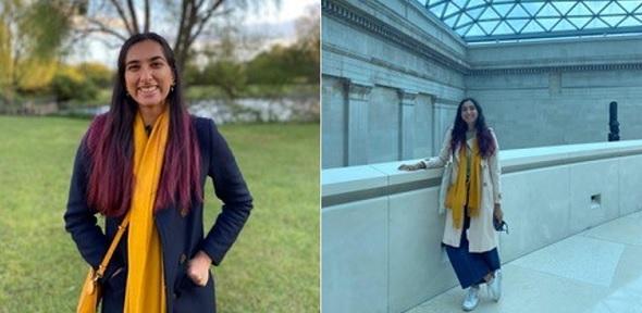Classics student Lylaah Bhalerao