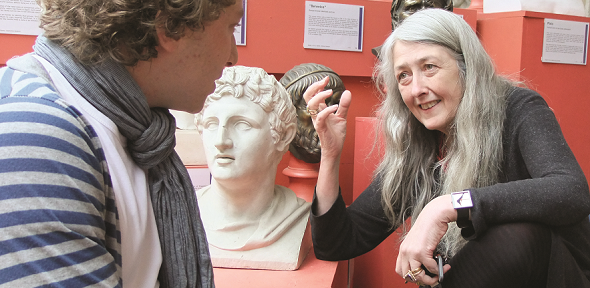 A supervision with Mary Beard
